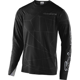 Troy Lee Designs Sprint Ultra Langarm Trikot podium black/silver